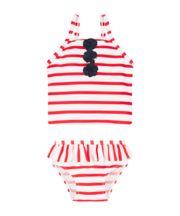 Mothercare Stripe And Flower Tankini Set