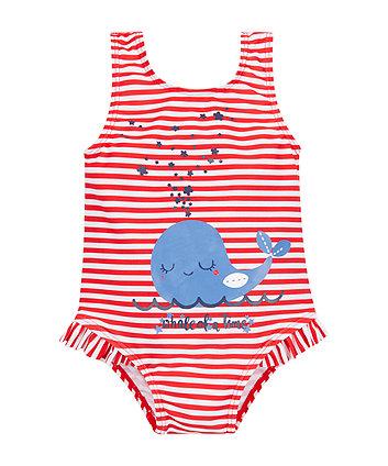 Stripe Whale Swimsuit