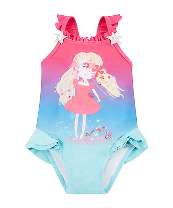 Mothercare Under The Sea Swimsuit