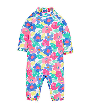 Mothercare Tropical Floral Sunsafe