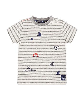 Stripe Sea T-Shirt
