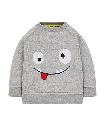 Monster Face Sweat Top