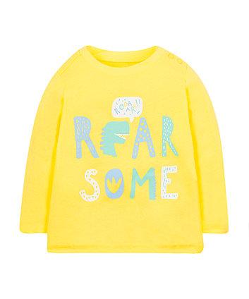 Yellow Roarsome T-Shirt