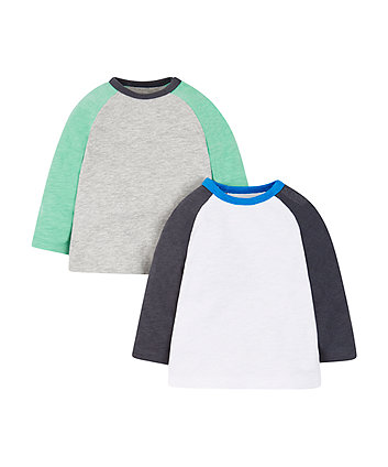 Raglan Tops - 2 Pack