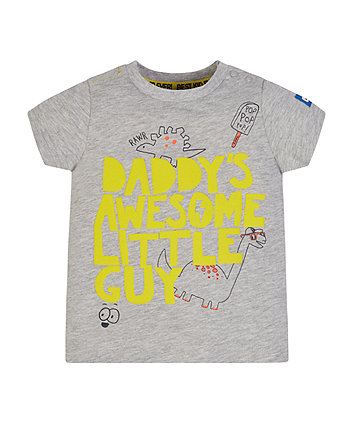 Mothercare Awesome Little Guy T-Shirt