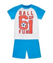 Mothercare Ball Of Fun T-Shirt And Shorts Set