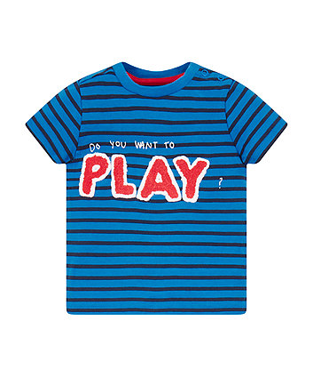 Mothercare Stripe Play T-Shirt