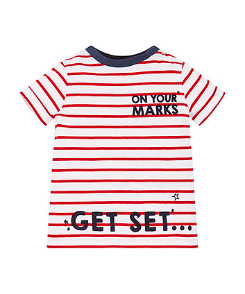 Mothercare On Your Marks T-Shirt