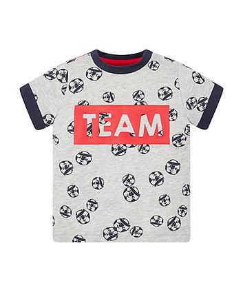 Mothercare Football T-Shirt