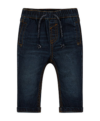 Dark Wash Joggers Jeans