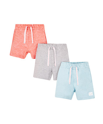 Blue And Grey Shorts - 3 Pack