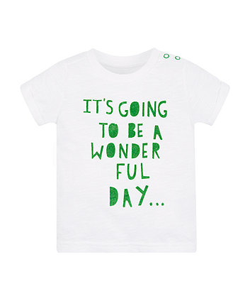 Mothercare Wonderful Day T-Shirt