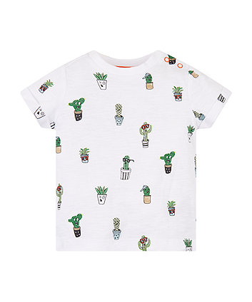 Funny Faces Cactus T-Shirt