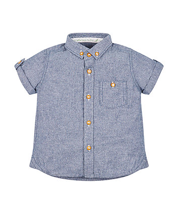 Mothercare Blue Chambray Shirt