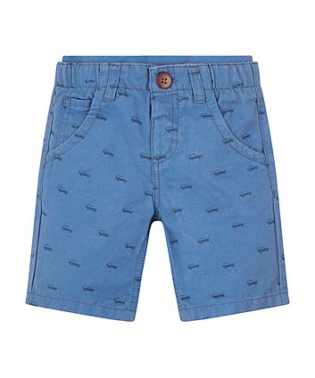 Mothercare Blue Car Shorts