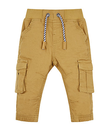 Mothercare Tan Skinny Cargo Trousers
