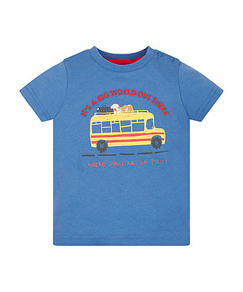 Mothercare It'S A Big World T-Shirt