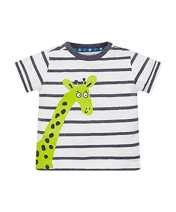 Stripe Giraffe T-Shirt