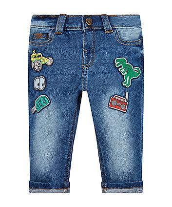 Mothercare Badge Jeans