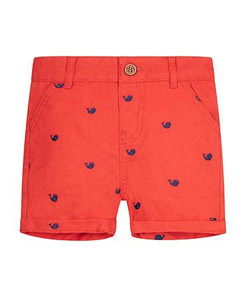 Red Whale Shorts