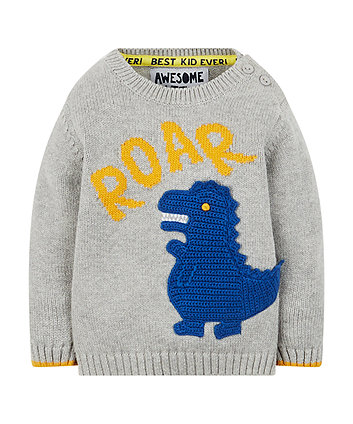 Dino Knitted Jumper
