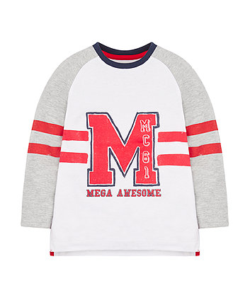 Mega Awesome Raglan T-Shirt