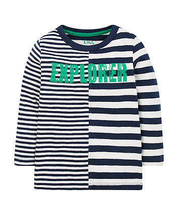 Striped Explorer Top