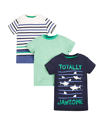 Totally Jawsome T-Shirts - 3 Pack