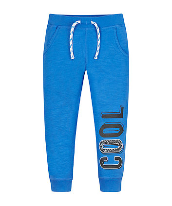 Blue Cool Joggers
