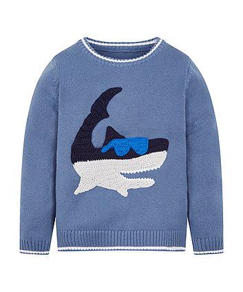 Knitted Shark Jumper