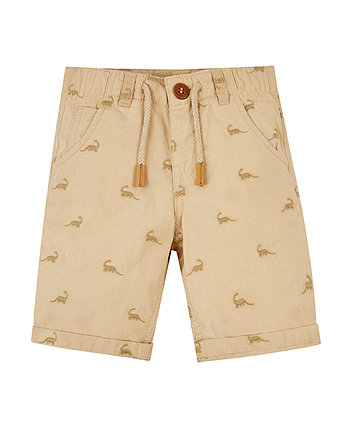 Mothercare Dinosaur Chino Shorts