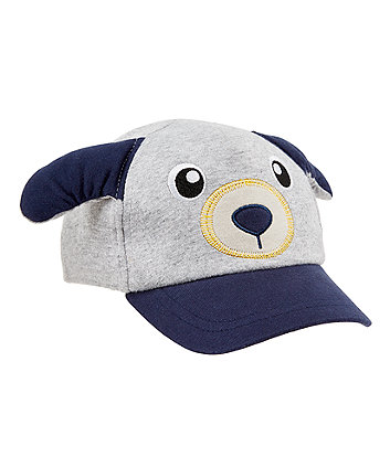 Mothercare Grey Puppy Cap