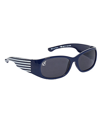 Mothercare Navy And White Striped Sunglasses