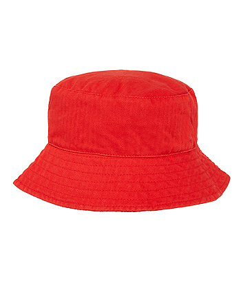 Mothercare Red Fisherman Hat