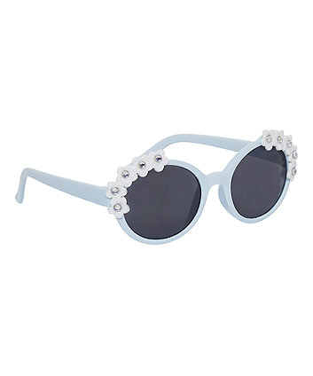Mothercare Blue Flower Sunglasses