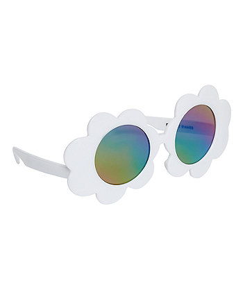 Mothercare White Flower Sunglasses