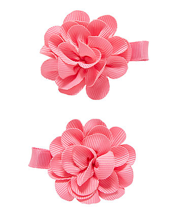 Pink Corsage Clips - 2 Pack