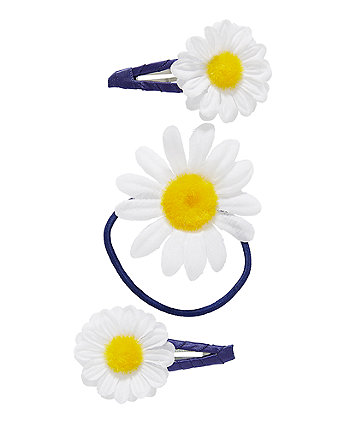 Daisy Hairbands And Hairclips - 3 Pack