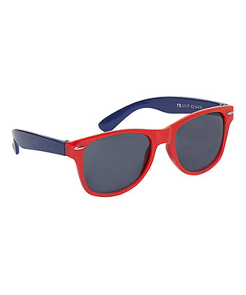 Mothercare Red And Navy Wayferer Sunglasses