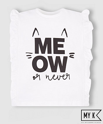 Mothercare My K Meow Or Never T-Shirt