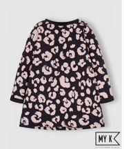 Mothercare My K Black Leopard Print Dress