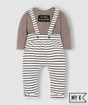 my k wide awake bodysuit and trouser set