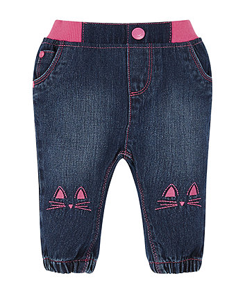Mothercare Cat Jeans