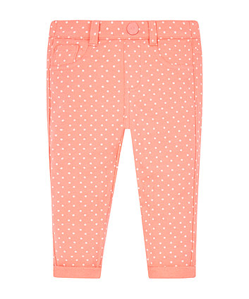 Mothercare Polka Dot Jeggings
