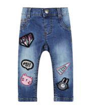 Denim Badge Jeans