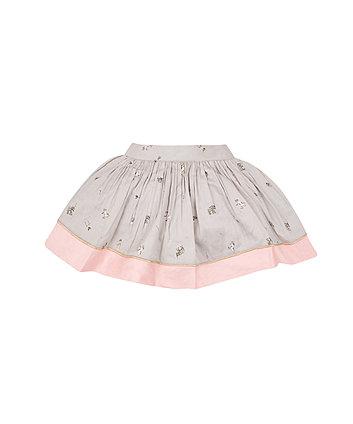Grey Circus Skirt