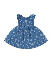 Mothercare Chambray Floral Dress
