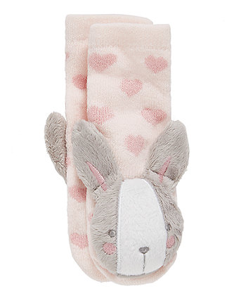 Mothercare My First Bunny Rattle Socks
