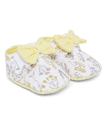 Mothercare Floral Pram Shoes