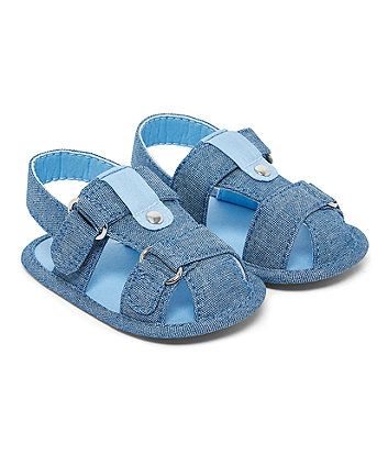 Blue Fisherman Sandals